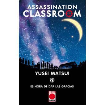 Assassination Classroom 21: Es hora de dar las gracias