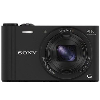 Cámara compacta Sony DSC-WX350 WIFI NFC Negro