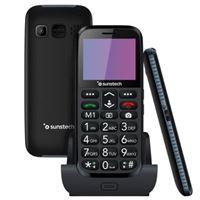 Teléfono móvil Sunstech CEL3 Negro