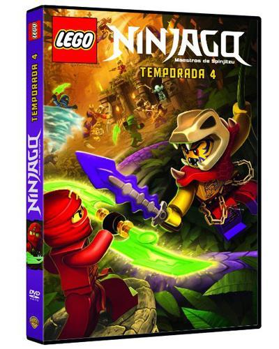Lego Ninjago: Maestros del Spinjitzu (Temporada 4) - DVD
