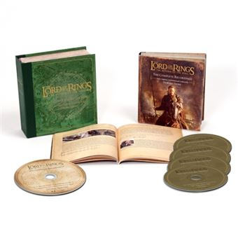 Box Set Lord of the rings B.S.O.  - 4 CD + Blu-Ray