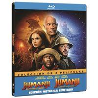 Jumanji: Bienvenidos a la Jungla + El Siguiente Nivel - Steelbook Blu-ray