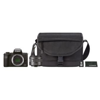 Cámara EVIL Canon EOS M50 Negro + 15-45 mm IS Kit