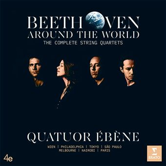 Beethoven Around the World - The Complete String Quartets - Vinilo