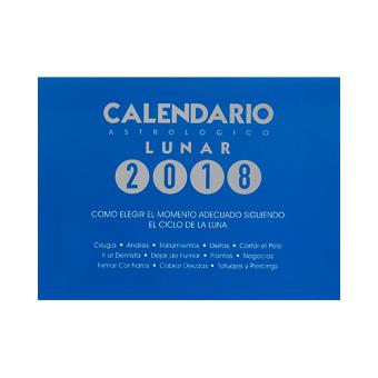 Calendario 2018 astrológico lunar