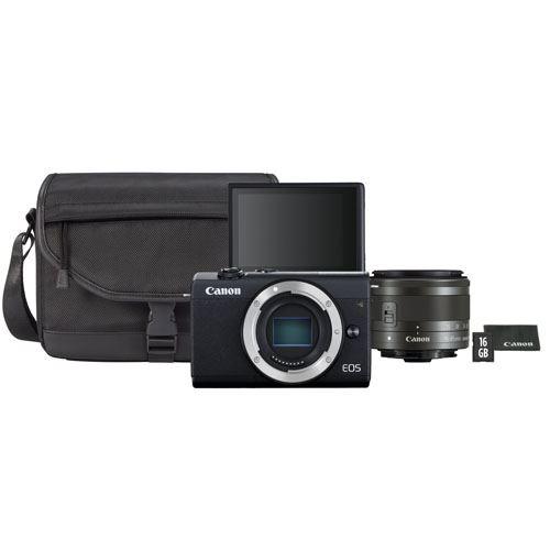 Cámara EVIL Canon EOS M200 + 15-45 mm IS STM Kit