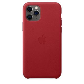 Funda de piel Apple (PRODUCT)RED para iPhone 11 Pro
