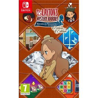 El Misterioso Viaje De Layton Katrielle Y La Conspiración De Los Millonarios Edición Deluxe Nintendo Switch Para Los Mejores Videojuegos Fnac