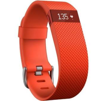 Pulsera de actividad + Ritmo cardiaco Fitbit Charge HR talla L Naranja