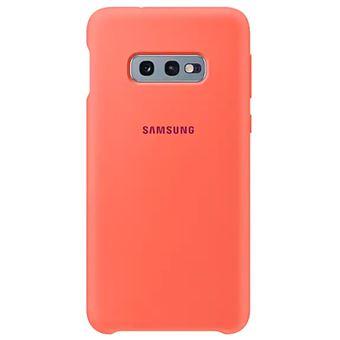 Funda de silicona Samsung para Galaxy S10e Rosa