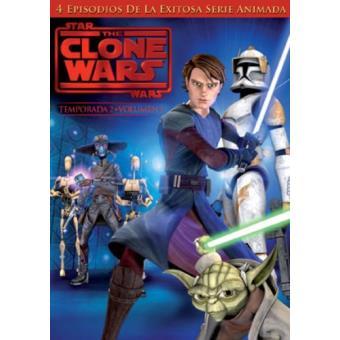 Star Wars: The Clone Wars - Temporada 2 Vol. 1 - DVD
