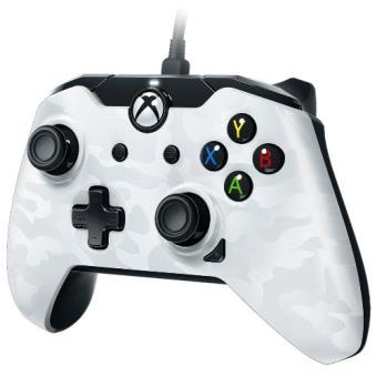 Mando PDP camuflaje blanco Xbox One