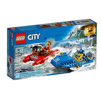 LEGO City - Huida por aguas salvajes