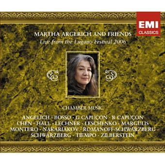 Martha Argerich & Friends: Live Lugano Festival 2006