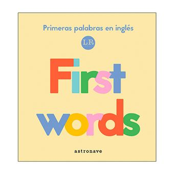First Words - Primeras palabras en inglés
