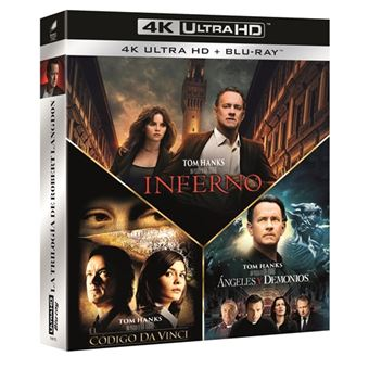 Pack Dan Brown - UHD + Blu-Ray