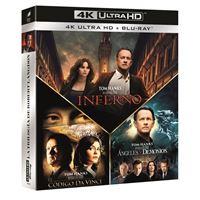 Pack Dan Brown - UHD + Blu-Ray