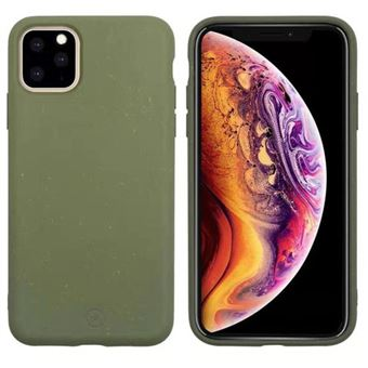 Funda Muvit Bambootek Verde para iPhone 11 Pro Max