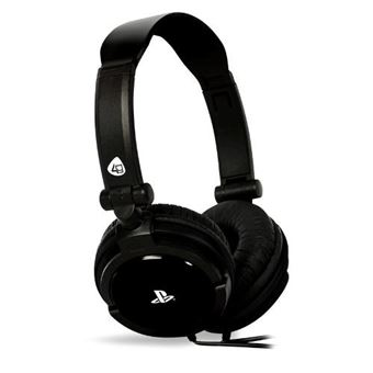 Auriculares Stereo PRO4 10 Negro PS4
