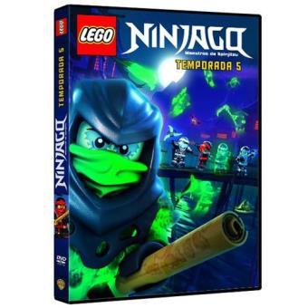 Lego Ninjago: Maestros del Spinjitzu Temporada 5 - DVD
