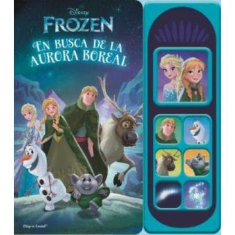 Libro Musical 7 Botones Frozen Luces Magicas Lsd