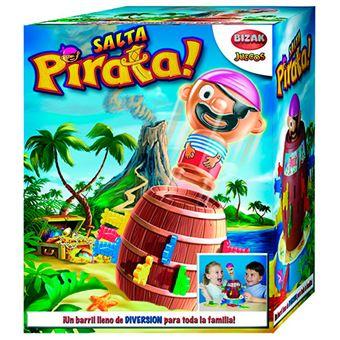 Tricky salta pirata Bizak