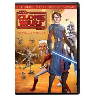 Star Wars: The Clone Wars (Temporada 2, Vol. 2) - DVD