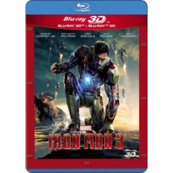 Iron Man 3 - Blu-Ray + 3D
