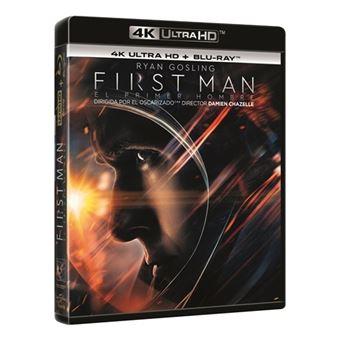 First Man: El primer hombre - UHD + Blu-Ray