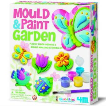 Crea y juega. Imanes Garden Mould & Paint