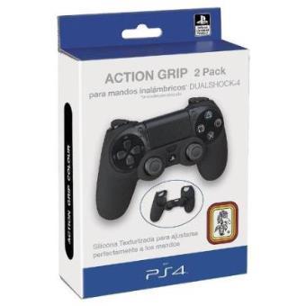 Ps4 consola fundas Bolsas 2 y Dual Pack Para Grip Action Shock wvxp7Ypq