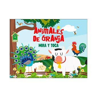 Mira y toca - Animales de la granja