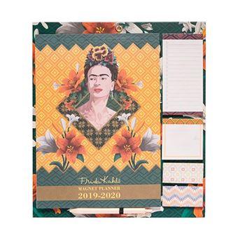 Planificador magnético Erik mensual 2019|20 Frida Kahlo Verde