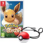 Pokémon Let's Go Eevee! y Poké Ball Plus Nintendo Switch