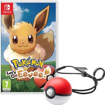 Pokemon Let S Go Eevee Y Poke Ball Plus Nintendo Switch Para Los