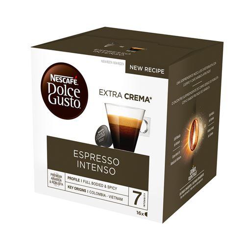 16 cápsulas Nescafé Dolce Gusto Espresso Intenso