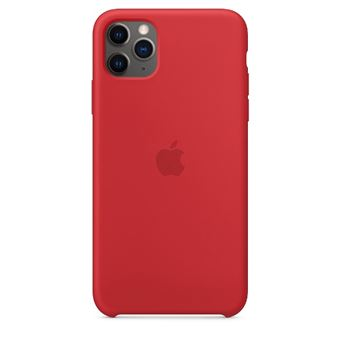 APPLE IPH11 PRO SILICONE CASE RED