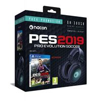 Pack PS4 PES 19 + Auriculares Nacon GH-300SR