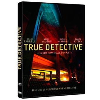 True Detective  Temporada 2 - DVD