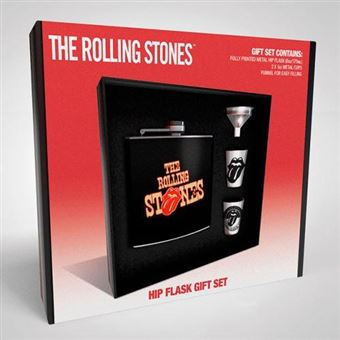 Set The Rolling Stones Hip Flask