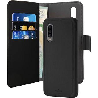 Funda Puro Wallet Negro para Huawei P30