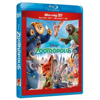 Zootrópolis - Blu-Ray 2D + 3D