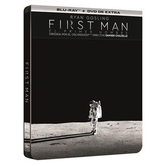 First Man: El primer hombre - Steelbook Blu-Ray + DVD Extras