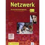 Netzwerk A1 Tomo 1 Libro del alumno y libro de ejercicios 1 con 2 CD de audio y DVD