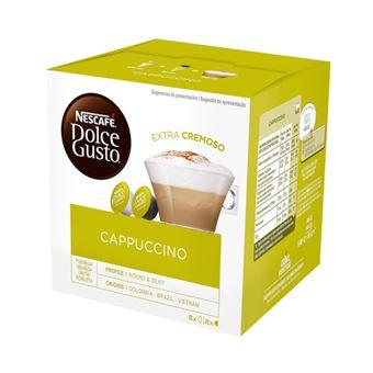 16 cápsulas Nescafé Dolce Gusto Cappuccino