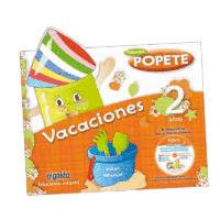 Cuaderno de vacaciones Popete 2 años