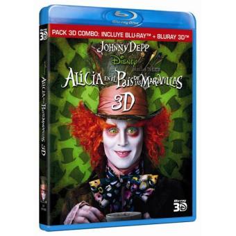 Alicia en el País de las Maravillas - Blu-Ray + 3D