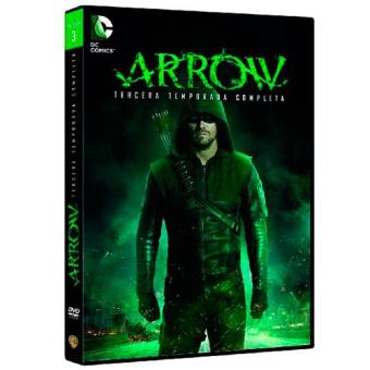 ArrowArrow  Temporada 3 - DVD