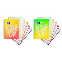 Cuaderno Oxford Never Give Up Neon Europeanbook 5 A4+ 120 hojas