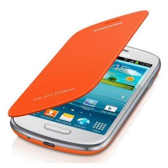 Samsung Funda FlipCover naranja para Galaxy S3 mini